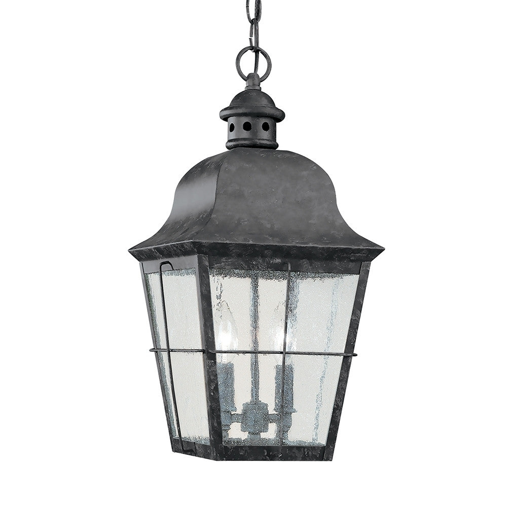 Two Light Outdoor Hanging Lantern, Lighting, Laura of Pembroke