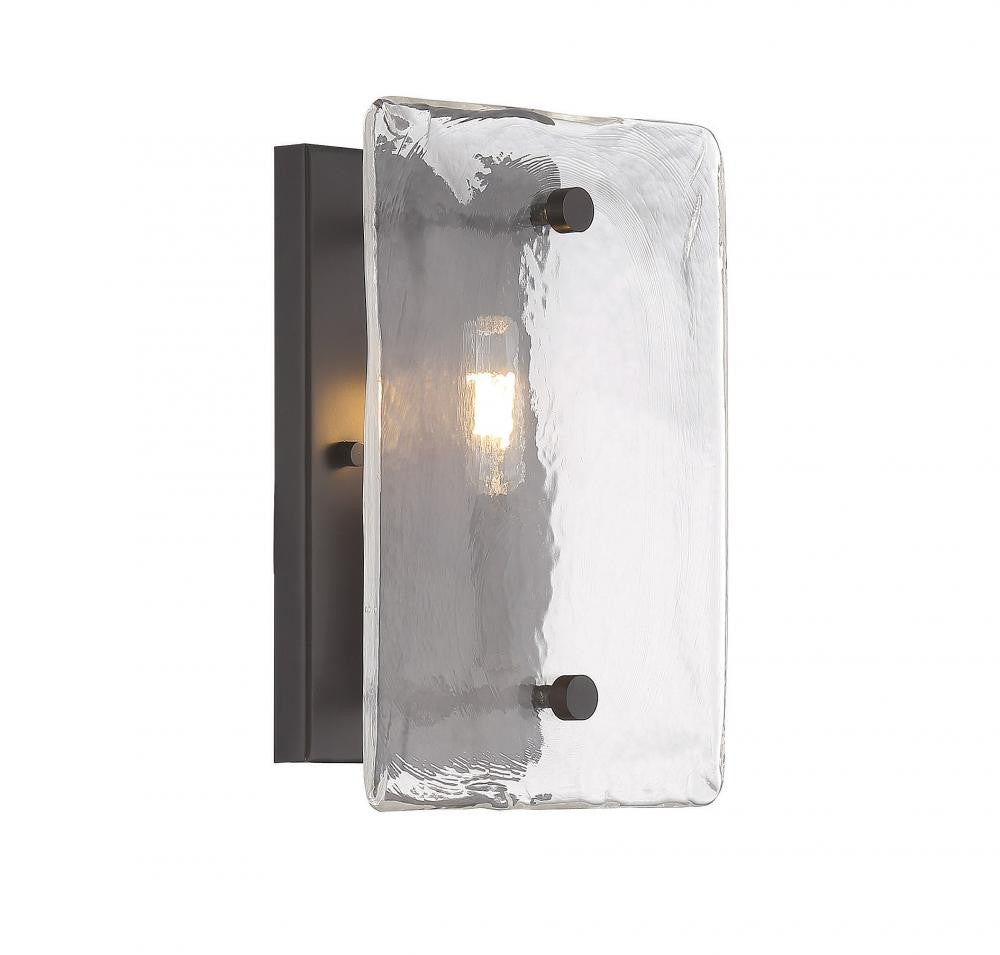 Piastra Glass 1 Light Sconce, Lighting, Laura of Pembroke