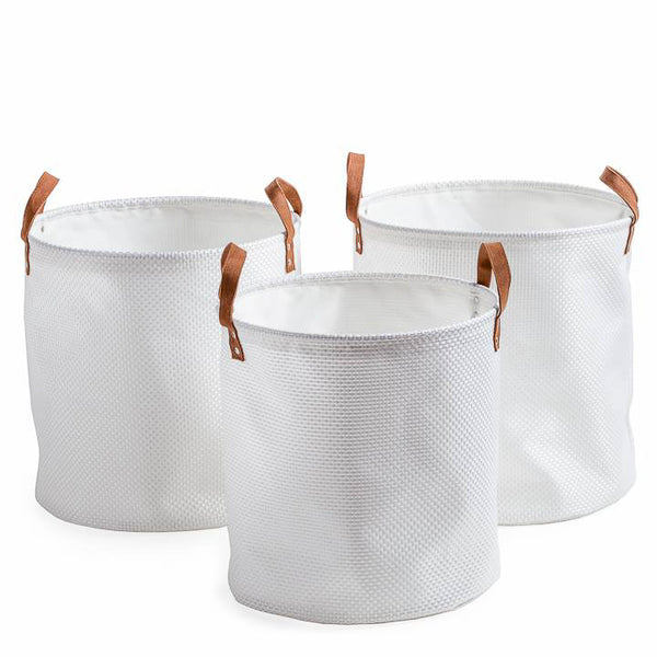 Round Nested Hampers Set of 3, Home Accessories, Laura of Pembroke