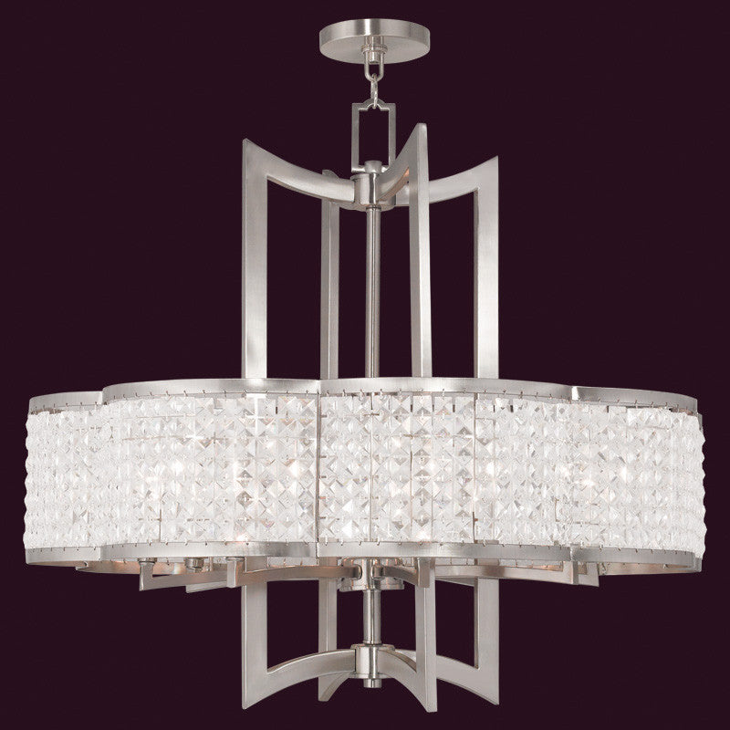 Clear Crystal Chandelier, Lighting, Laura of Pembroke