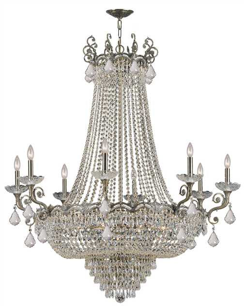Majestic 20 Light Brass Chandelier, Lighting, Laura of Pembroke