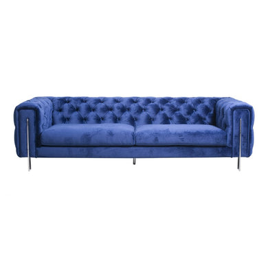 Tufted Royal Blue Sofa, Home Furnishings, Laura of Pembroke