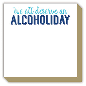 ALCOHOLIDAY LUXE NOTEPAD