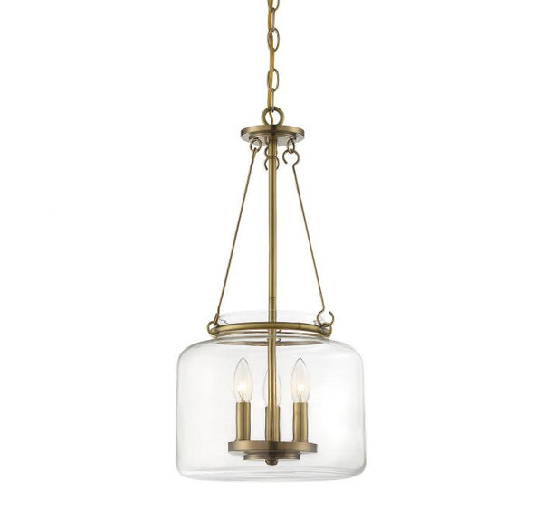 Akron 3 Light Pendant
