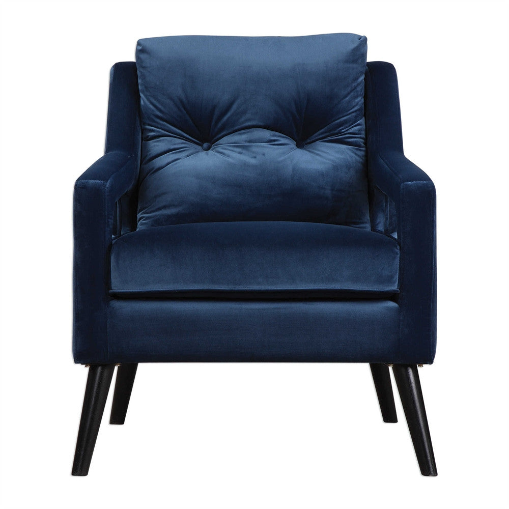 Navy Blue Armchair - Home Furnishings - Laura of Pembroke