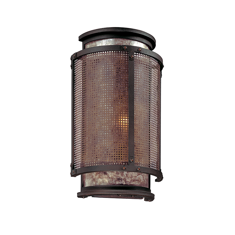 Copper Mountain Bronze Mesh Sconce