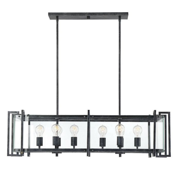Bennington 8 Light Linear Chandelier