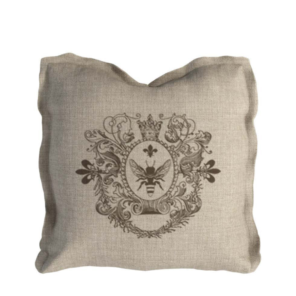 Biege Linen Pillow