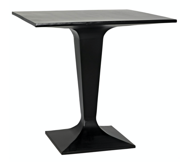 Bistro Table, Black Metal
