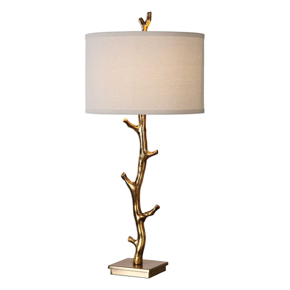 Gold Branch Lamp, Home Accessories, Laura of Pembroke