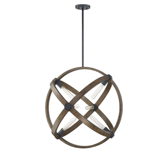 Buckley 6 Light Pendant