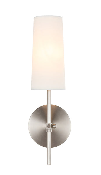 Burnished Nickel Wall Sconce, Lighting, Laura of Pembroke