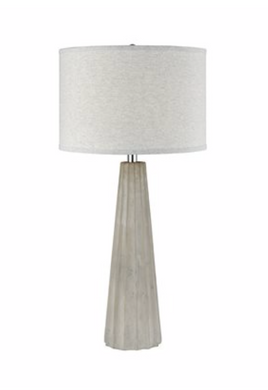 CASTLESTONE TABLE LAMP IN POLISHED CONCRETE