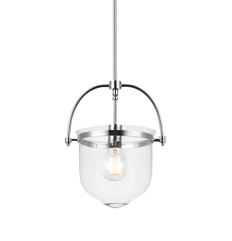 Ceramiche Chrome 1 Light Pendant