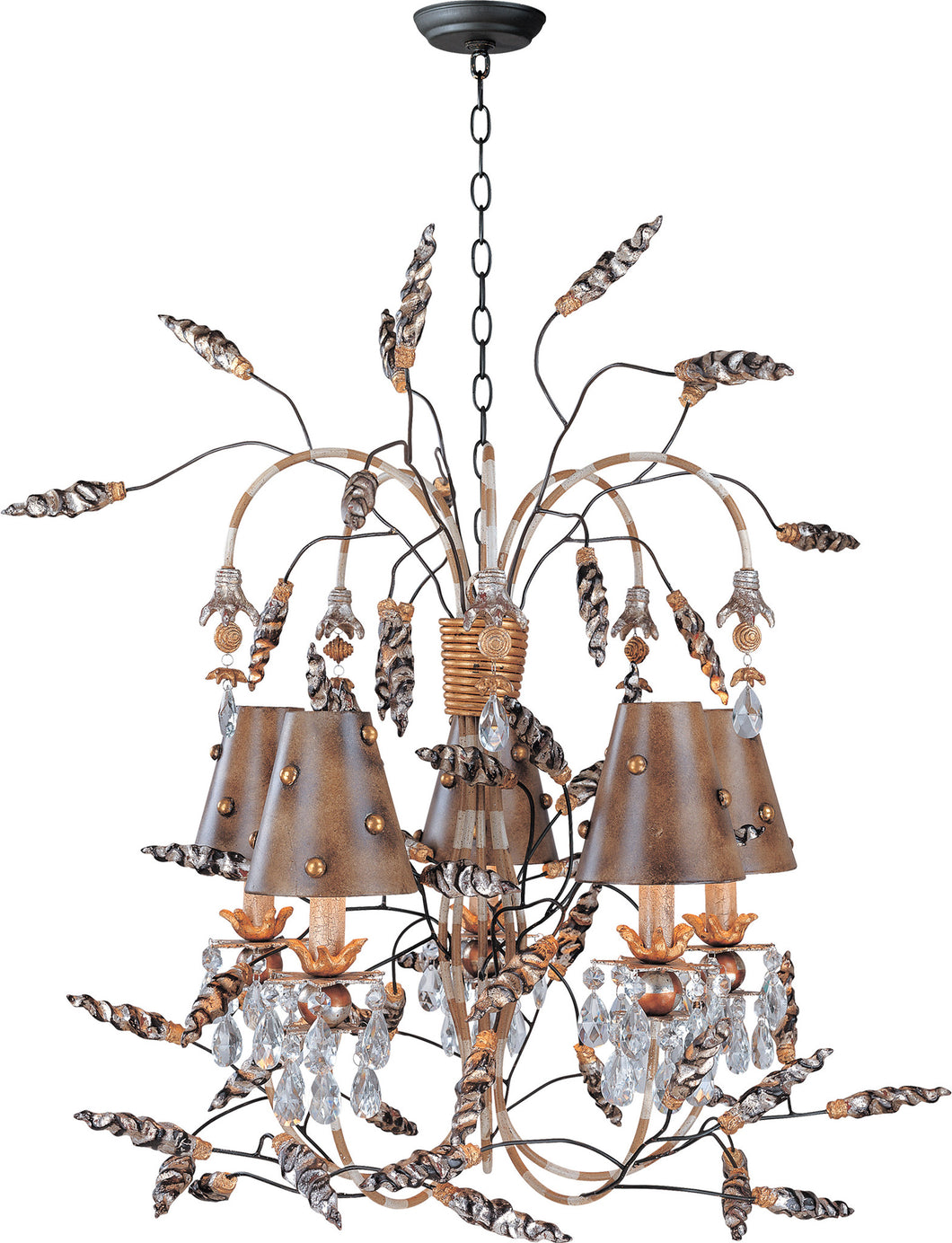 5 Light Chandelier Lighting Laura of Pembroke - Laura of Pembroke Canton Ohio Boutique