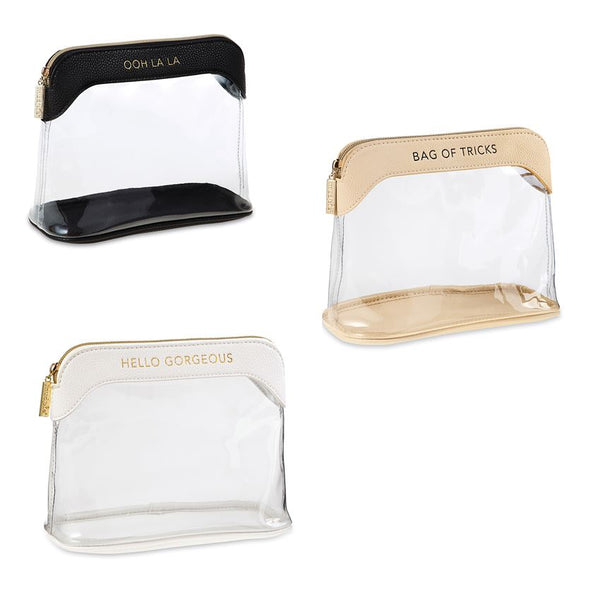 CLEAR MAKE-UP BAGS ASSORTMENT