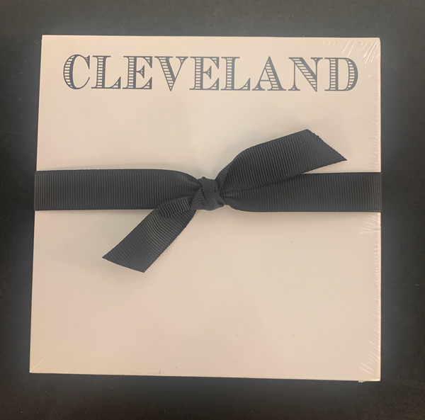 'Cleveland' Luxe Notepad