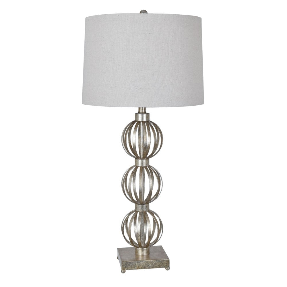Silver leaf table lamp laura of pembroke silver leaf table lamp aloadofball Image collections