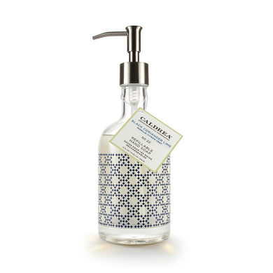 Black Coriander Lime Glass Refillable Hand Soap, Gifts, Caldrea, Laura of Pembroke