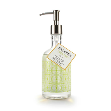 Ginger Pomelo Glass Refillable Hand Soap, Gifts, Caldrea, Laura of Pembroke