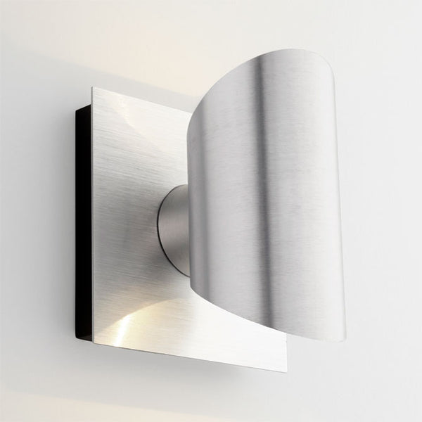 Caliber Outdoor Sconce - Brushed Aluminum