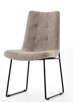 Camile Dining Chair-Savile Flannel
