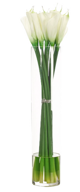 Lilies In Glass Vase, Home Accessories, Laura of Pembroke