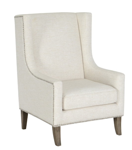 Ivory Club Chair, Home Furnishings, Laura of Pembroke