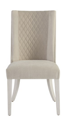 Two Tone Upholstered Dining Chair