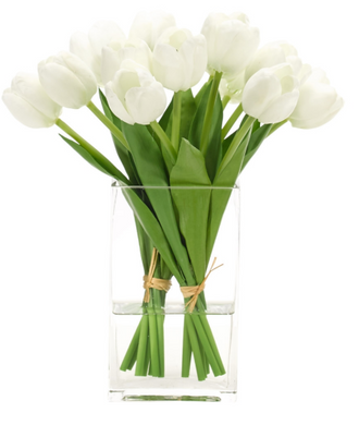 Tulips In Glass Vase, Home Accessories, Laura of Pembroke
