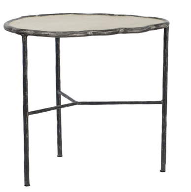 Metal Branch End Table
