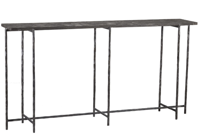 Iron Console Table, Home Furnishings, Laura of Pembroke