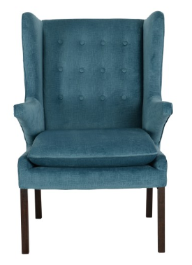 Wingback Tufted Accent Chair