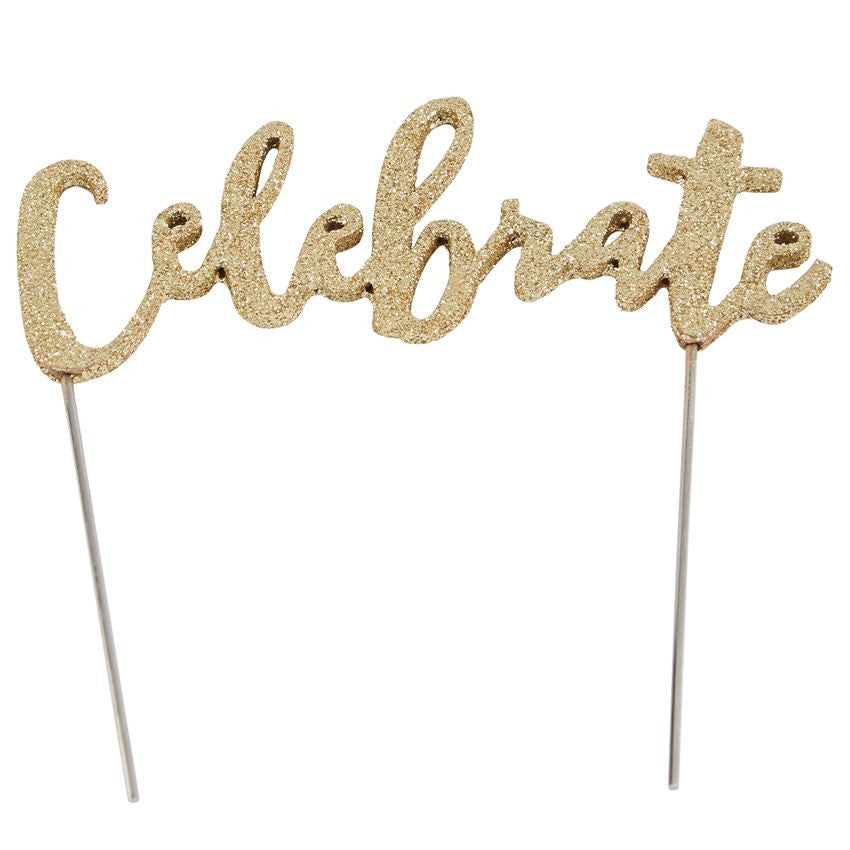 Celebrate Cake Topper, Gifts, Mud Pie, Laura of Pembroke