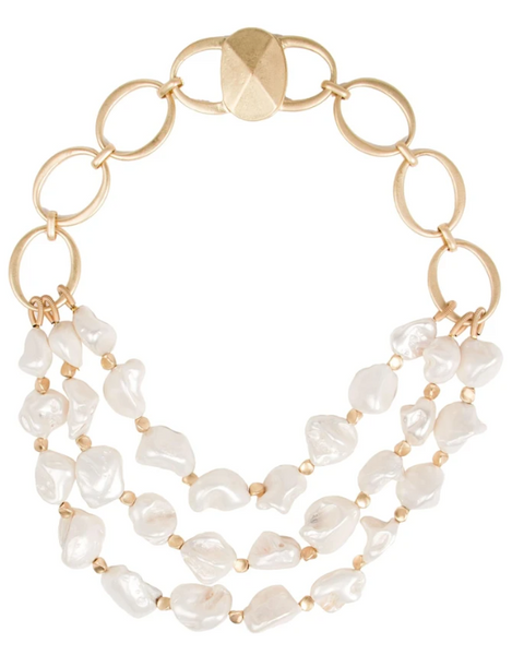Charlotte Necklace Ivory