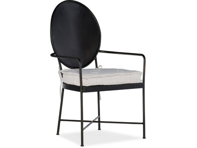 Ciao Bella Metal Arm Chair