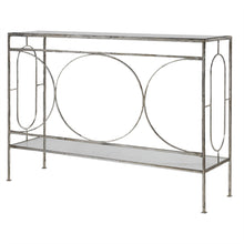 Circle Detail Console Table