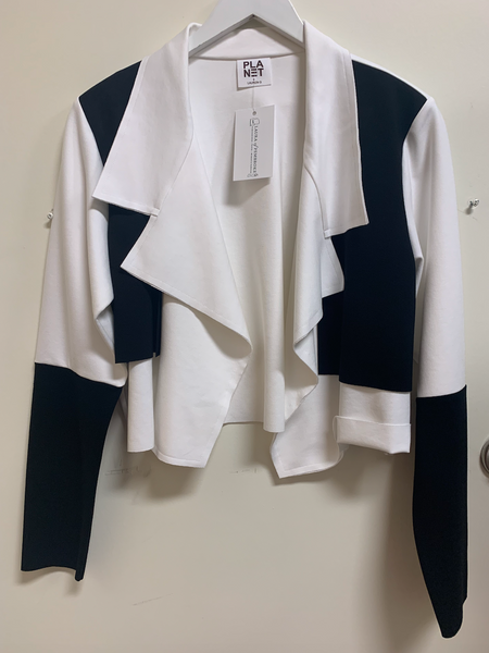 Color Block Scuba Jacket