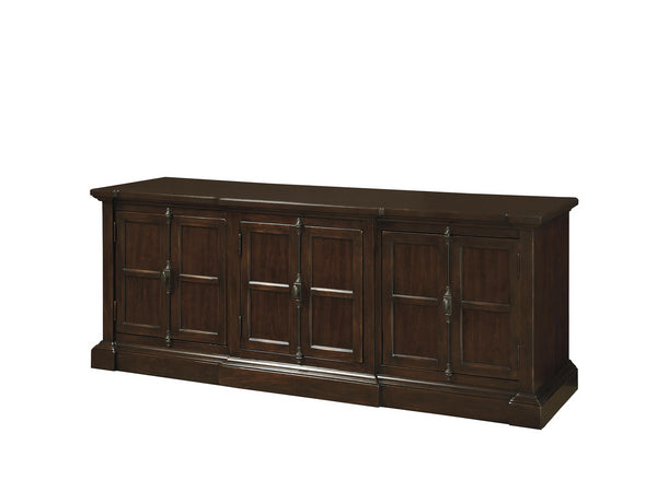 Cherry Veneers Hardwood Solids Entertainment Console