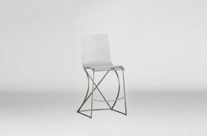 Counter Stool – Silver