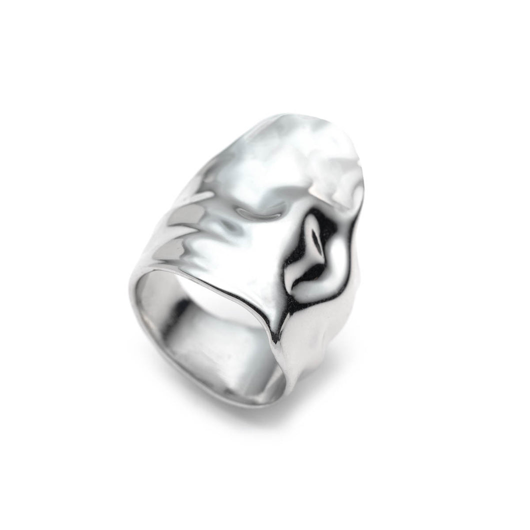 Crumpled Rhodium Asymmetric Ring