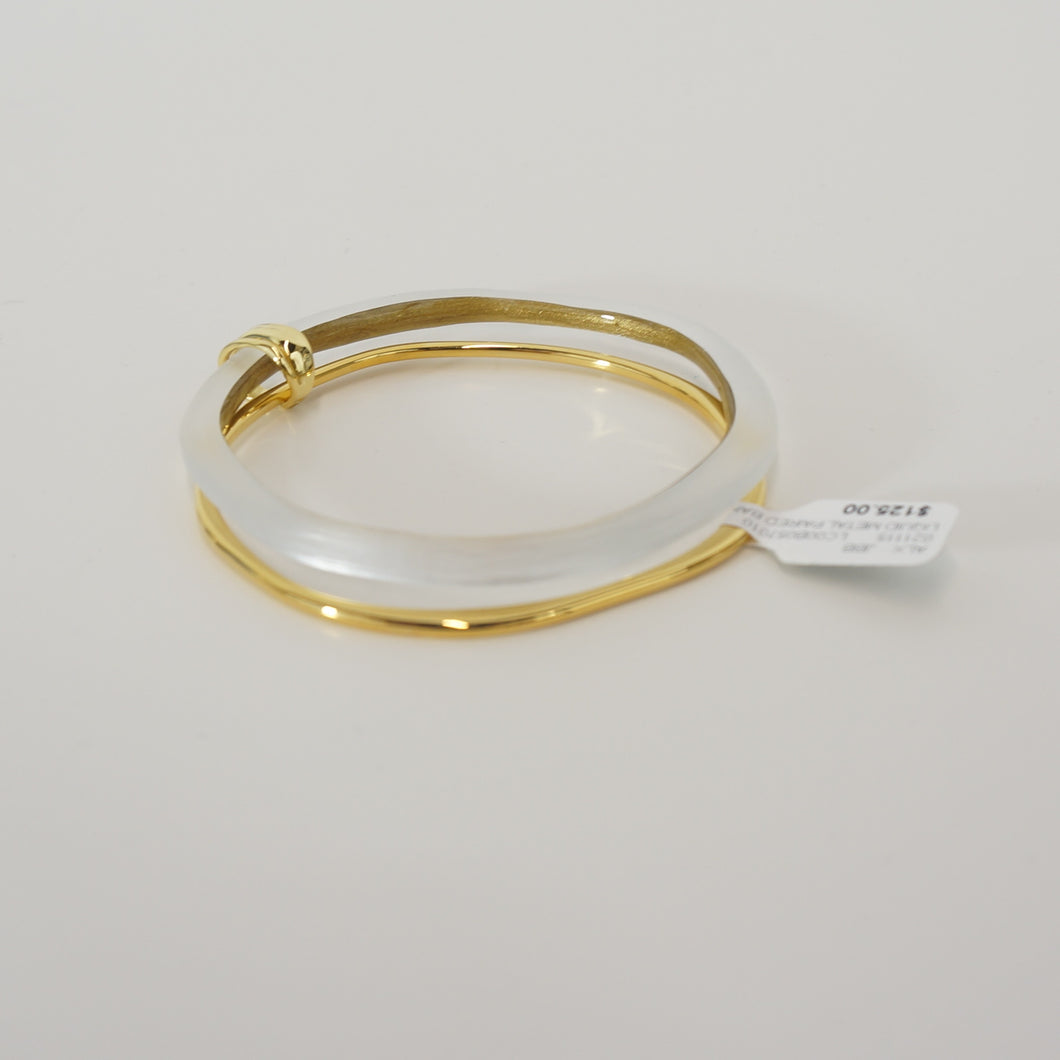 Liquid Metal Paired Bangle