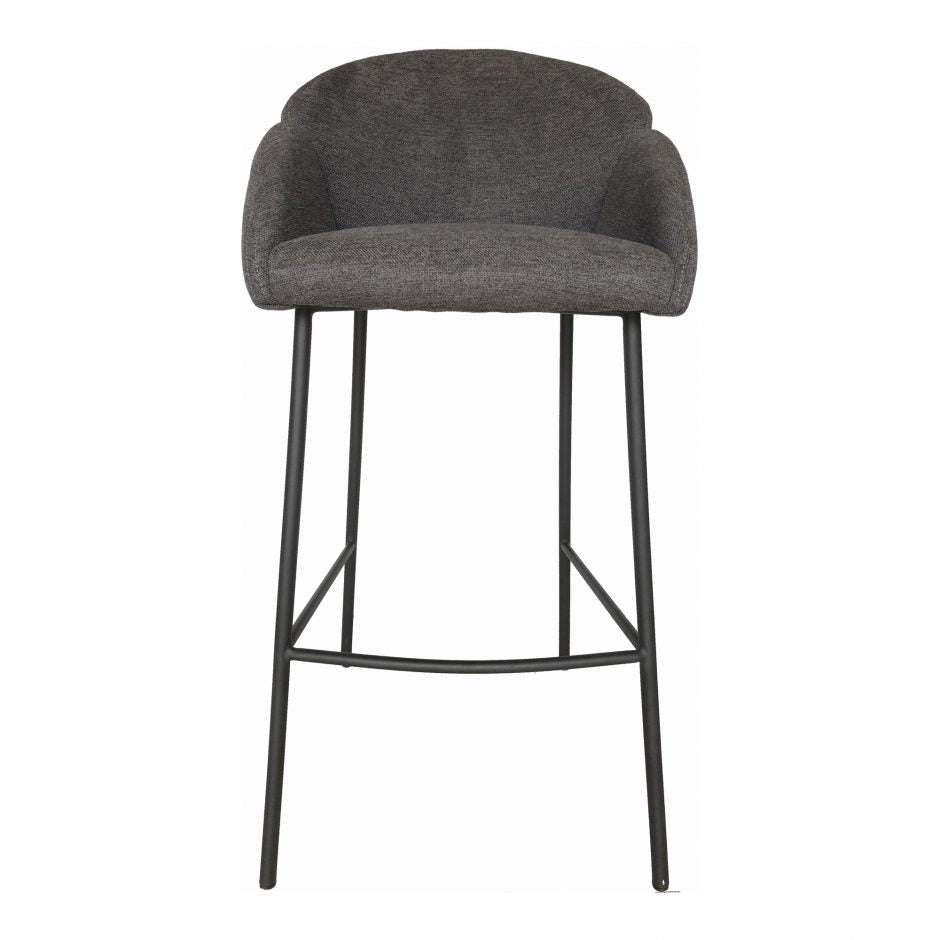 Dark Grey Modern Bar Stool