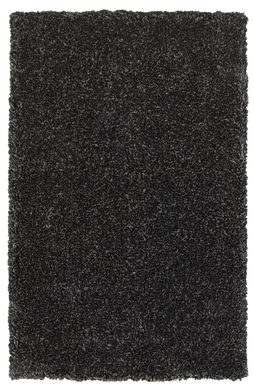 8x10 Dark Charcoal Shag Area Rug, Home Accessories, Laura of Pembroke