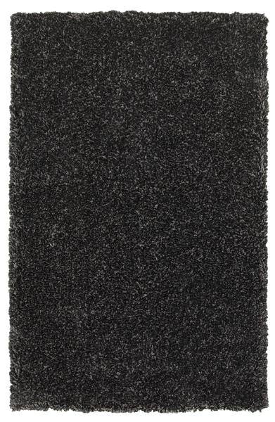 8x10 Dark Charcoal Shag Area Rug