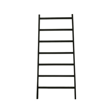 Decorative Wood Ladder, Black