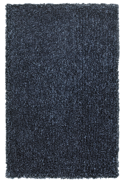 8x10 Denim Blue Shag Area Rug