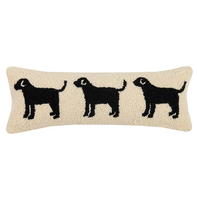 Dog Trio Hook Pillow