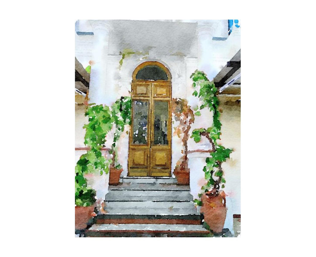 Door In Capri 16X21, Home Accessories, Laura of Pembroke