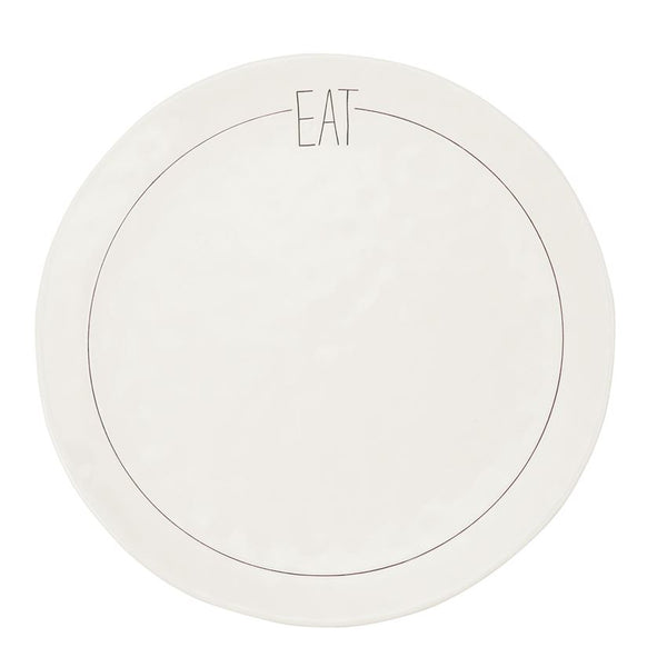 EAT SENTIMENT DINNER PLATE